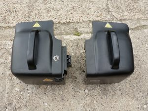 Elektromobil Shoprider Helgoland GK 10, Batterien