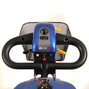 Elektromobil Shoprider Helgoland GK 10, Cockpit