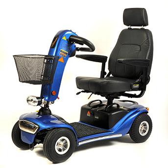 Elektromobil Shoprider Helgoland GK10, blau