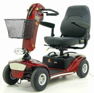 Elektromobil Shoprider Helgoland GK10, rot