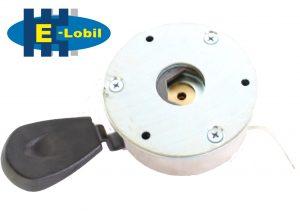 Elektromobil elektromagnetische Bremse 9,5 cm Kunststoff unten