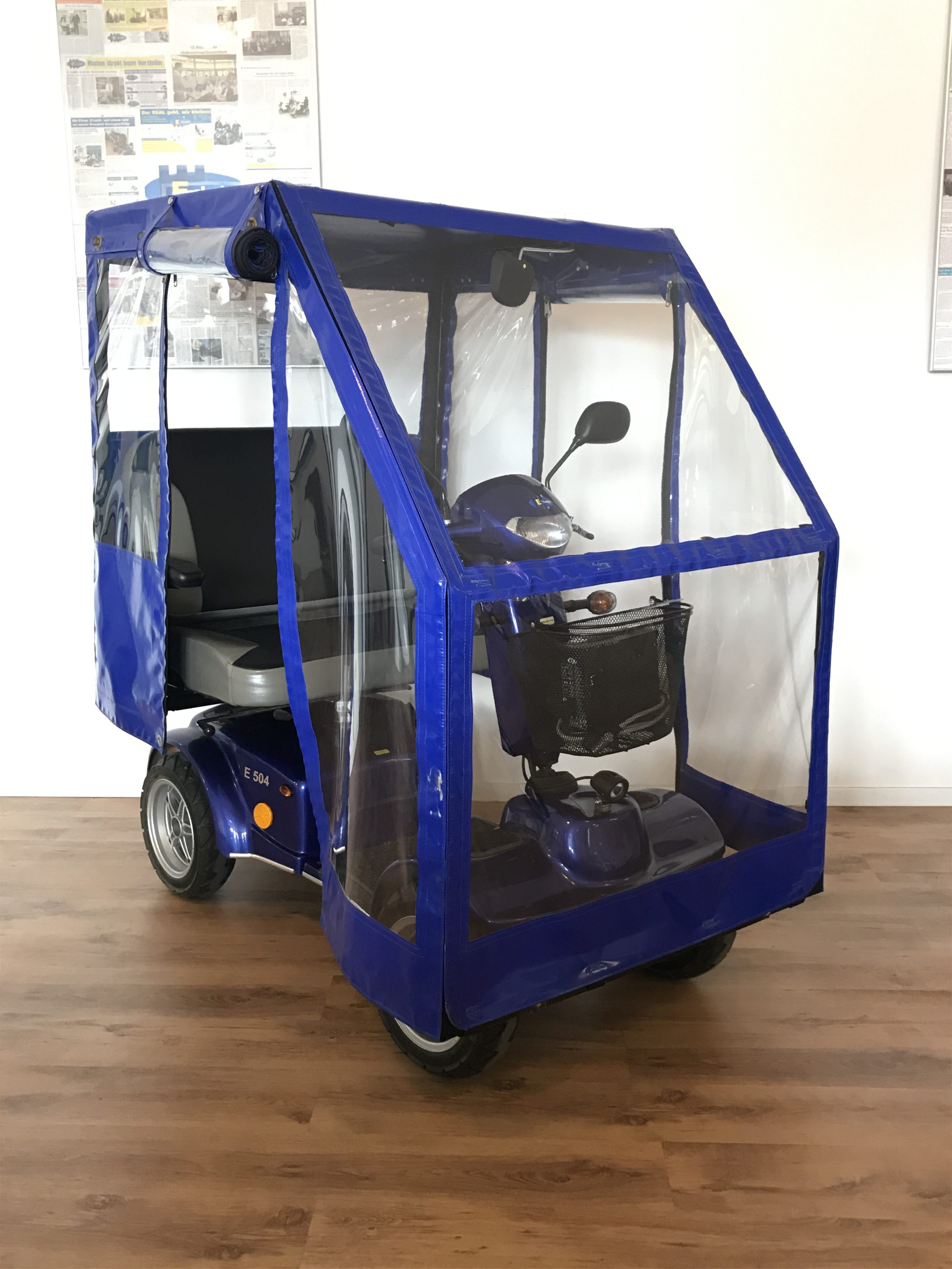 Elektromobil D-404 Sonderumbau